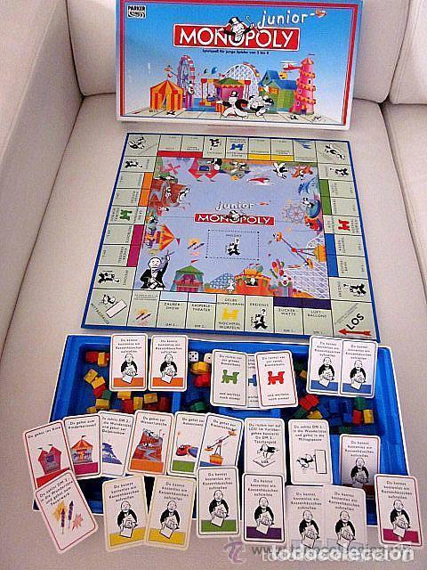 Monopoly Junior Aleman 1994 Parker Version A Comprar Juegos De