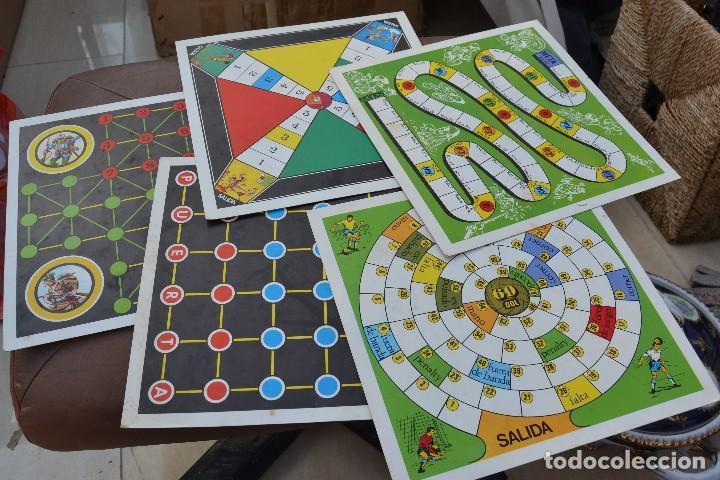 TABLEROS DE JUEGOS DE MESA MARCA FHER (Juguetes - Juegos - Juegos de Mesa)