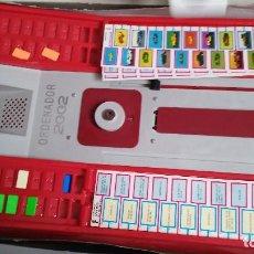 Juegos de mesa: SUPER ORDENADOR 2002 CON LAMINA DE COCHES PILEN . Lote 73634995