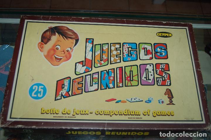 Juegos Reunidos Geyper 25 Anos 70 Comprar Juegos De Mesa Antiguos