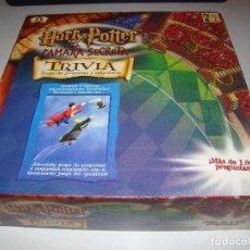 Juegos de mesa: TRIVIA HARRY POTTER Y LA CÁMARA SECRETA. Lote 142610092