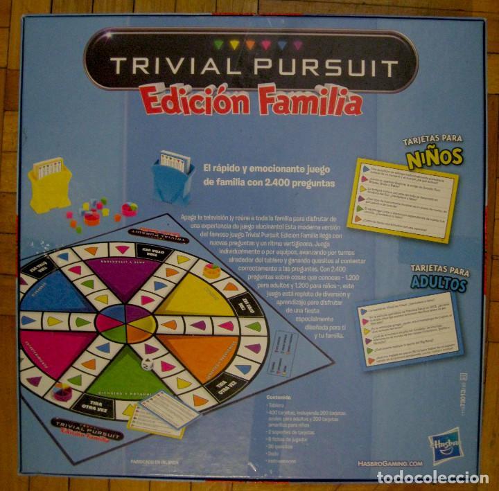 Trivial Pursuit Edicion Familia Parker Hasbro Comprar Juegos De