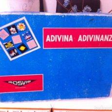 Juegos de mesa: ADIVINA ADIVINANZA DE ROSVIC. Lote 74252047