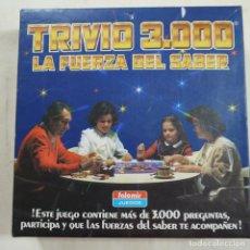 Juegos de mesa: TRIVIO 3000. LA FUERZA DEL SABER - FALOMIR -. Lote 74276531