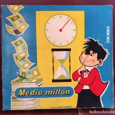 Juegos de mesa: JUEGO DE MESA MEDIO MILLON EXCLUSIVA JUGUETES BORRAS. Lote 74377567