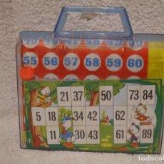 Juegos de mesa: BINGO PATO DONALD DE LA CAS PIQUÉ. Lote 74864723