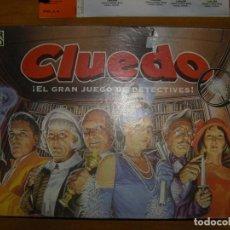 Juegos de mesa: CLUEDO. COMPLETO. 1996. Lote 75083563