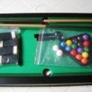 Juegos de mesa: MINI BILLAR DE LUXE- JUEGO DE MESA- MUY BUEN ESTADO-. Lote 75502315