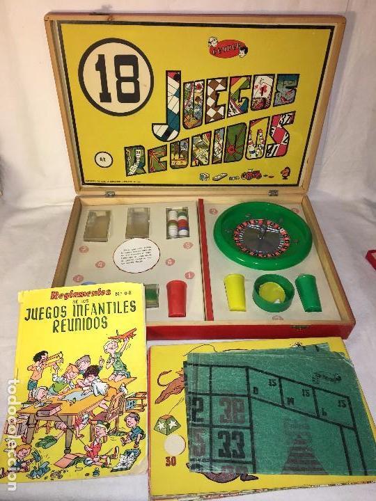 Ra110 Antiguo Juegos Reunidos Geyper Caja De Ma Comprar Juegos De