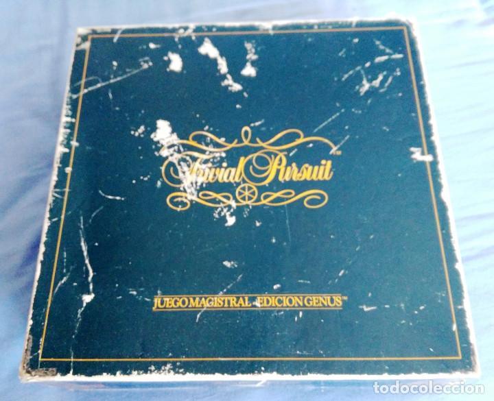Juegos de mesa: TRIVIAL PURSUIT- EDIT GENUS- EDICION 1-COMPLETO - Foto 2 - 75754947