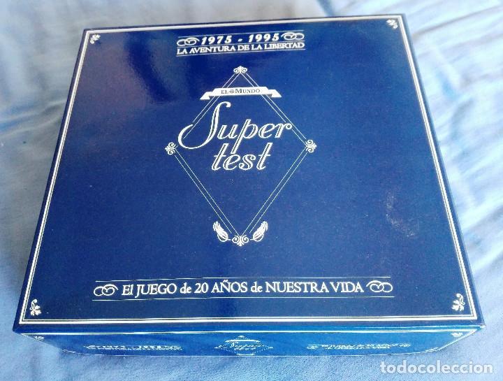 SUPERTEST- LA AVENTURA DE LA LIBERTAD- EL MUNDO - 1975 1995 (Juguetes - Juegos - Juegos de Mesa)