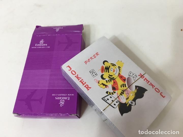 Juegos de mesa: BARAJA DE CARTAS DE POKER SIN ABRIR, PUBLICIDAD LINEAS AEREAS EMIRATES - Foto 4 - 75827127
