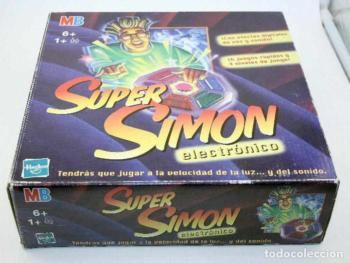 Super Simon Mb Juegos Hasbro En Buen Esta Comprar Juegos De