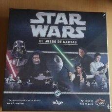 Juegos de mesa: STAR WARS LCG CAJA BÁSICA. GUERRA DE LAS GALAXIAS. JUEGO DE MESA. PRECINTO PLÁSTICO ORIGINAL. Lote 75920707