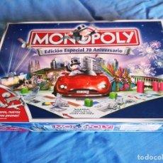 Juegos de mesa: MONOPOLY EDICION ESPECIAL 70 ANIVERSARIO- PARKER. Lote 75993623