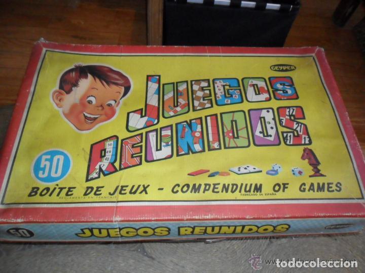 Juegos Reunidos Geyper 50 Con Reglamento Comprar Juegos De Mesa