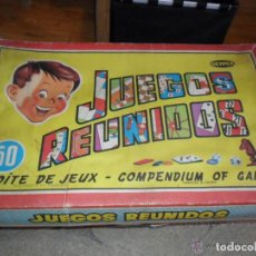 Juegos de mesa: JUEGOS REUNIDOS GEYPER 50 CON REGLAMENTO. Lote 76020279