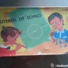 Juegos de mesa: ANTIGUO Y RARO JUEGO DE MESA FUTEBOL DE SOPRO - MARCA MAJORA - FUTBOL DE SOPLO . Lote 76082443
