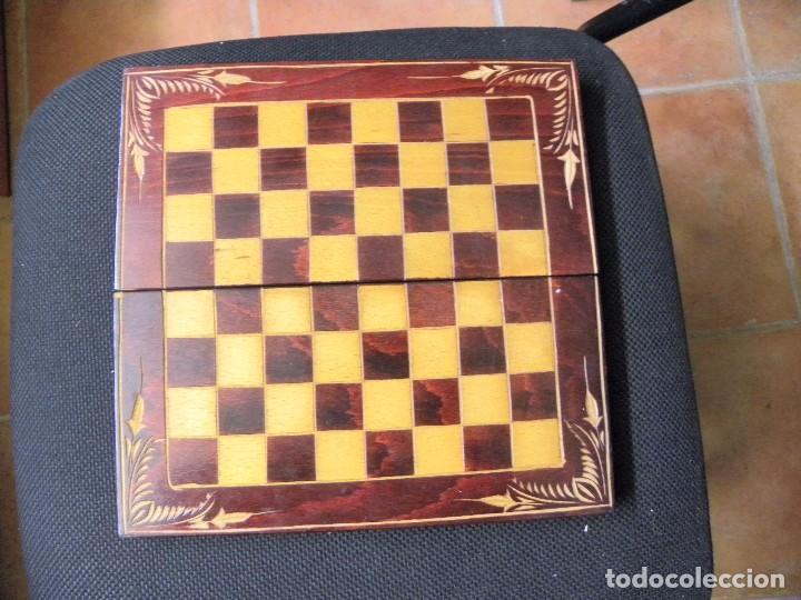Juegos de mesa: TABLERO CAJA DE AJEDREZ O DAMAS - Foto 3 - 76084903