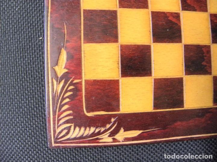 Juegos de mesa: TABLERO CAJA DE AJEDREZ O DAMAS - Foto 4 - 76084903