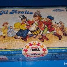 Juegos de mesa: EL ASALTO JUEGO DE EDUCA. Lote 76676687