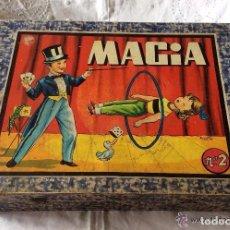 Juegos de mesa: CAJA ANTIGUA DE MAGIA BORRAS N 2 AÑOS 50 . Lote 76682755