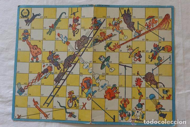 Tablero Carton Serpientes Y Escaleras De Juegos Comprar Juegos De