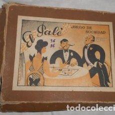 Juegos de mesa: EL PALÉ, JUEGO DE SOCIEDAD. Lote 76793307
