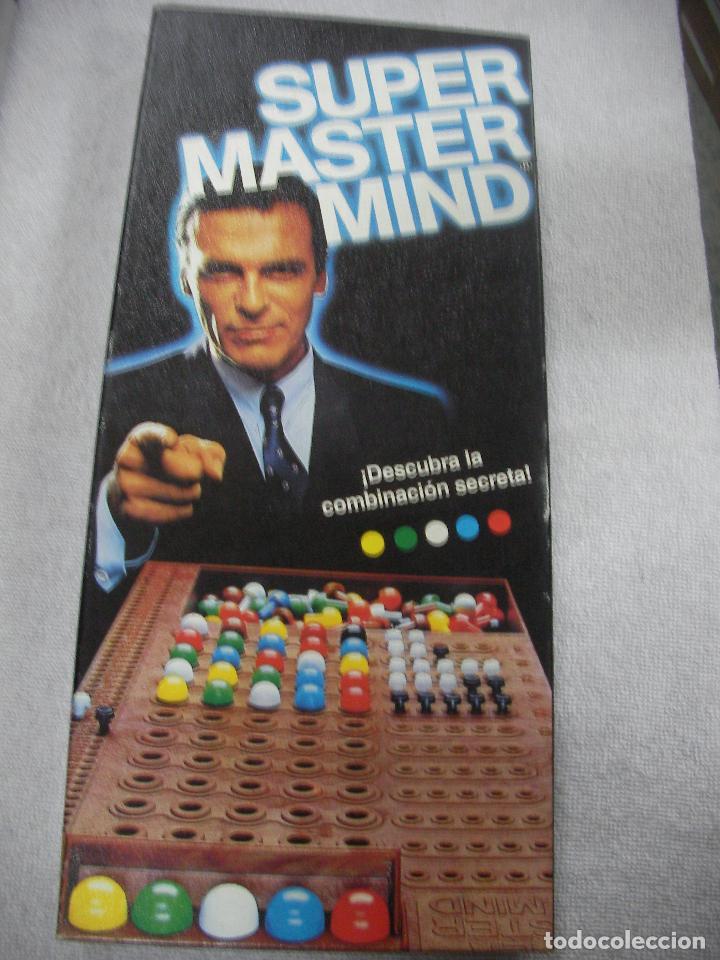 ANTIGUO JUEGO DE MESA - SUPER MASTER MIND (Juguetes - Juegos - Juegos de Mesa)