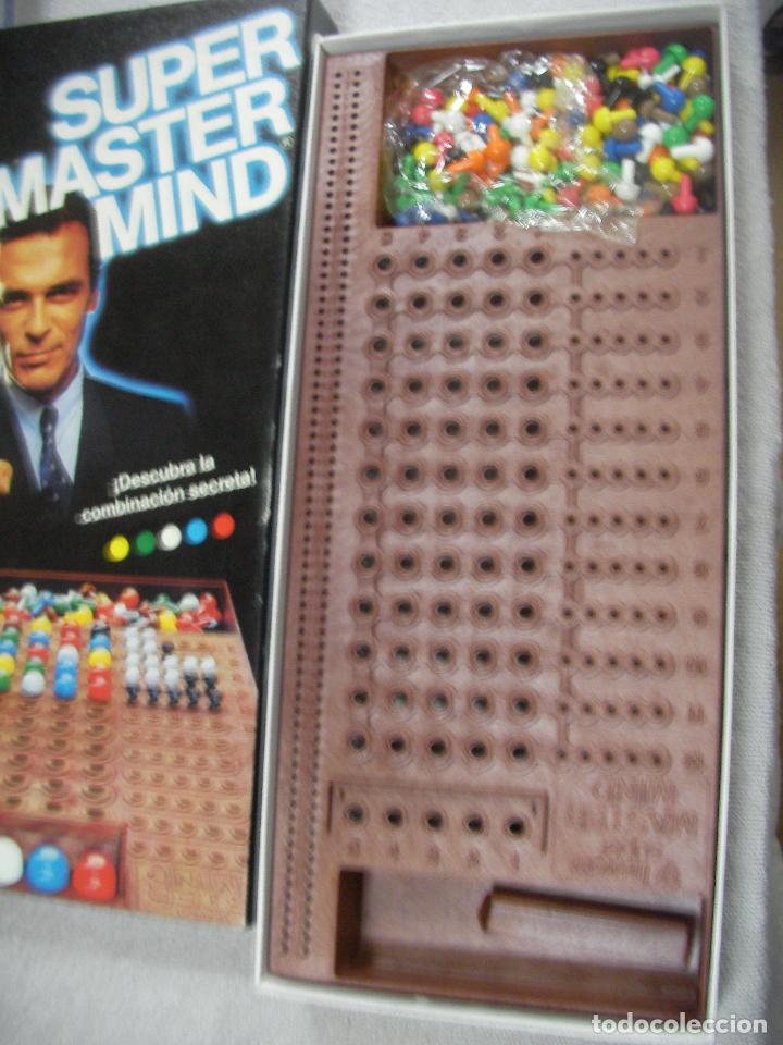 Juegos de mesa: ANTIGUO JUEGO DE MESA - SUPER MASTER MIND - Foto 2 - 76794007