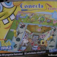 Juegos de mesa: JUEGO DE MESA - CONECTA BOB ESPONJA. Lote 76795623