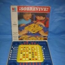 Juegos de mesa: JUEGO DE MESA SOBREVIVE DE MB 1981. Lote 76916583