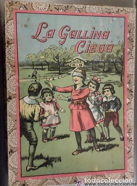 JUEGO DE PRINCIPIOS DE SIGLO LA GALLINITA CIEGA LA CAJA MIDE 28 X 20 X 3 CM. INCLUYE EL TABLERO. (Juguetes - Juegos - Juegos de Mesa)