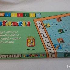 Juegos de mesa: INTELECT INFANTIL,CELULOSA FABRIL,CEFA. Lote 77135241