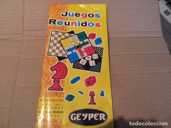 Juegos Reunidos Geyper Reglamentos Estuches 1 Comprar Juegos De