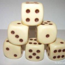 Juegos de mesa: ANTIGUO JUEGO DE DADOS.. Lote 77274193