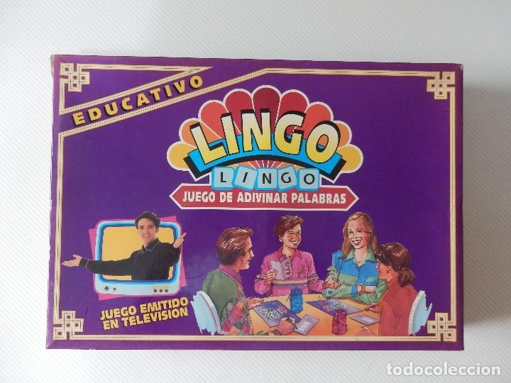 Juego De Mesa Lingo Juego De Adivinar Palabra Comprar Juegos De