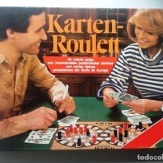 Juegos de mesa: KARTEN ROULETT DANI REF 037. UN ASTUTO JUEGO CON INUMERABLES POSIBILIDADES TACTICAS . Lote 77407729