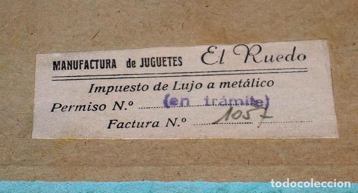 Juegos de mesa: El ruedo. Raro Juego de Mesa Taurino, Toros, Tauromaquia, original años 50. Completo. - Foto 2 - 77561637