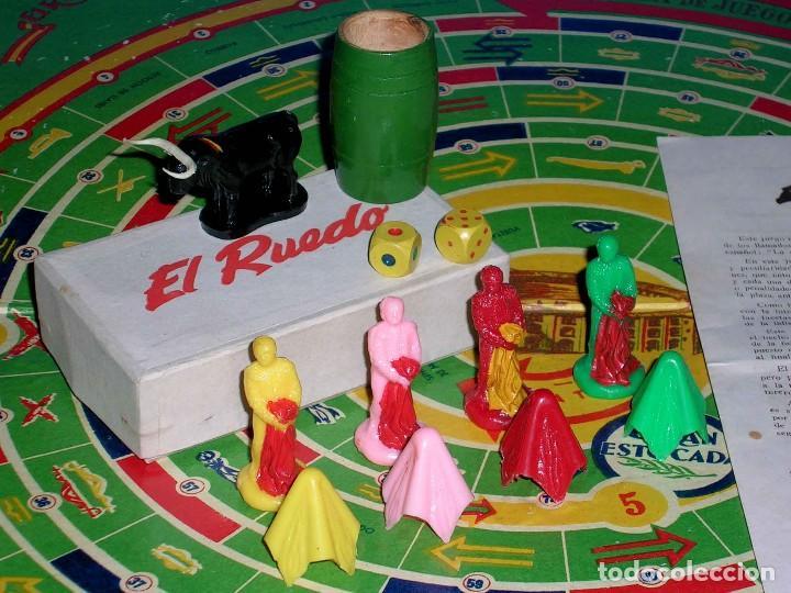 Juegos de mesa: El ruedo. Raro Juego de Mesa Taurino, Toros, Tauromaquia, original años 50. Completo. - Foto 4 - 77561637