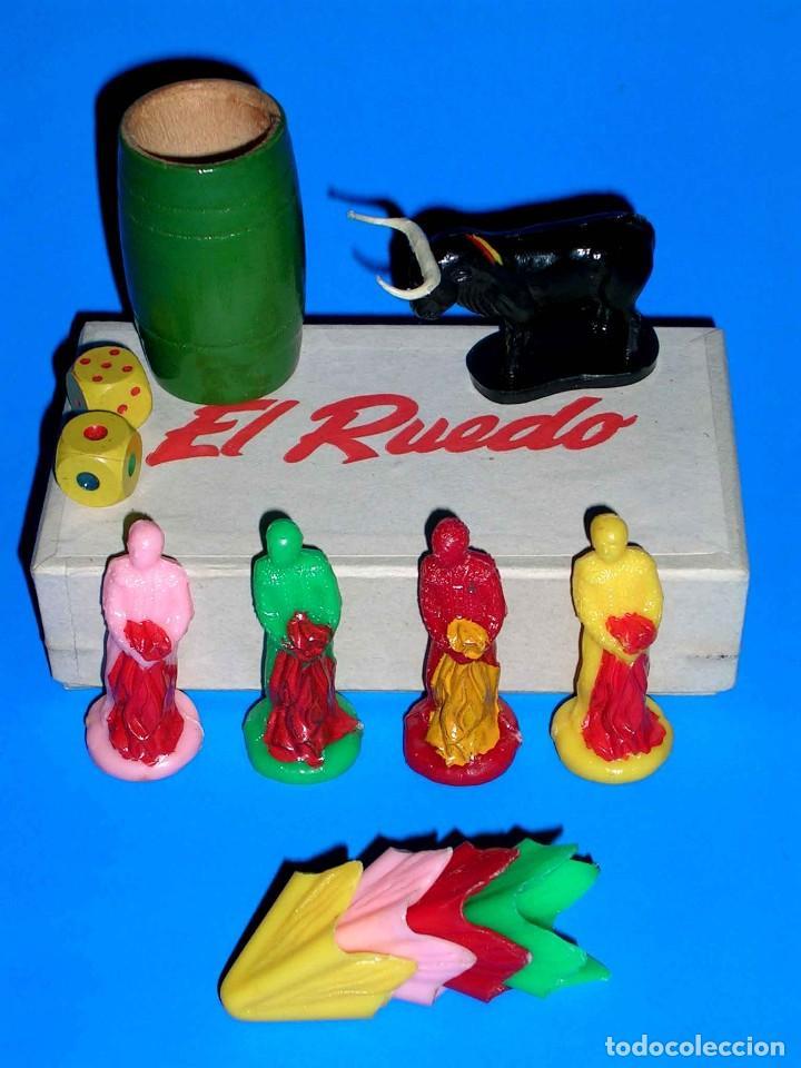 Juegos de mesa: El ruedo. Raro Juego de Mesa Taurino, Toros, Tauromaquia, original años 50. Completo. - Foto 6 - 77561637