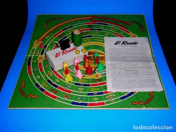 Juegos de mesa: El ruedo. Raro Juego de Mesa Taurino, Toros, Tauromaquia, original años 50. Completo. - Foto 8 - 77561637