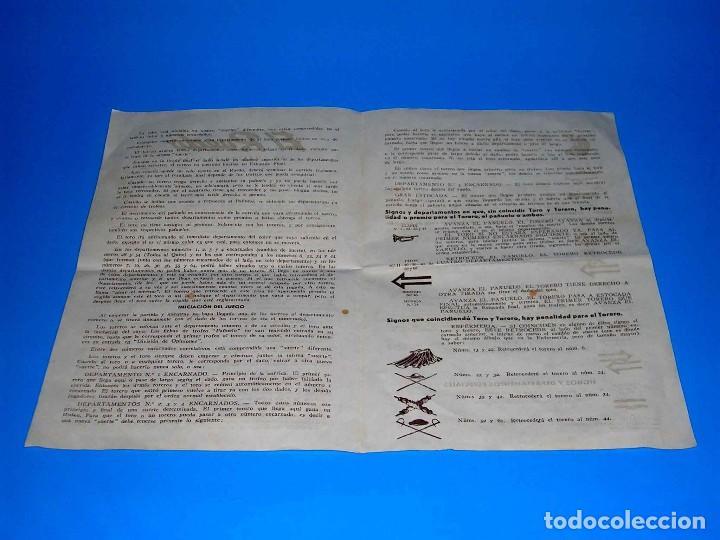 Juegos de mesa: El ruedo. Raro Juego de Mesa Taurino, Toros, Tauromaquia, original años 50. Completo. - Foto 14 - 77561637