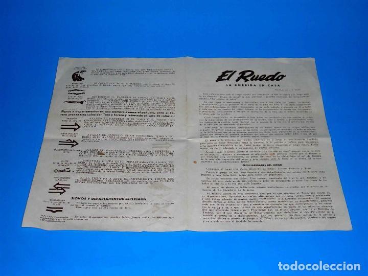 Juegos de mesa: El ruedo. Raro Juego de Mesa Taurino, Toros, Tauromaquia, original años 50. Completo. - Foto 15 - 77561637