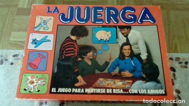 Juego De Mesa Antiguo La Juerga Comprar Juegos De Mesa Antiguos En