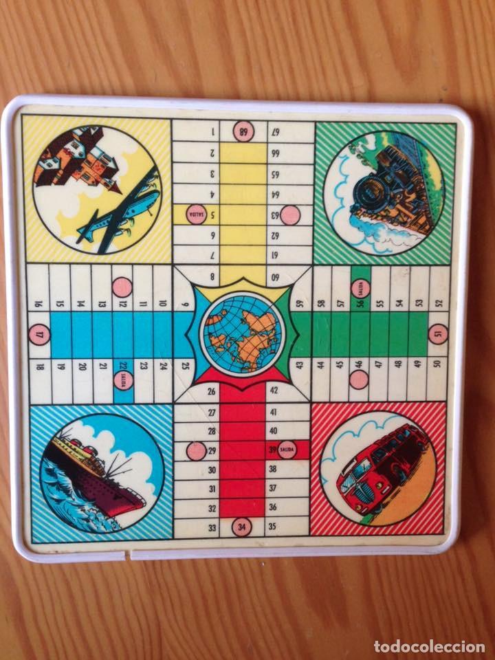Tablero parch s y juego de la oca antiguo comprar juegos de mesa antiguos en todocoleccion - La oca juego de mesa ...