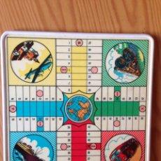 Juegos de mesa: TABLERO PARCHÍS Y JUEGO DE LA OCA ANTIGUO. Lote 77797373