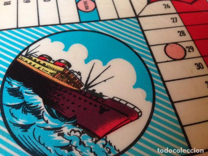 Juegos de mesa: Tablero Parchís y juego de la Oca antiguo - Foto 6 - 77797373