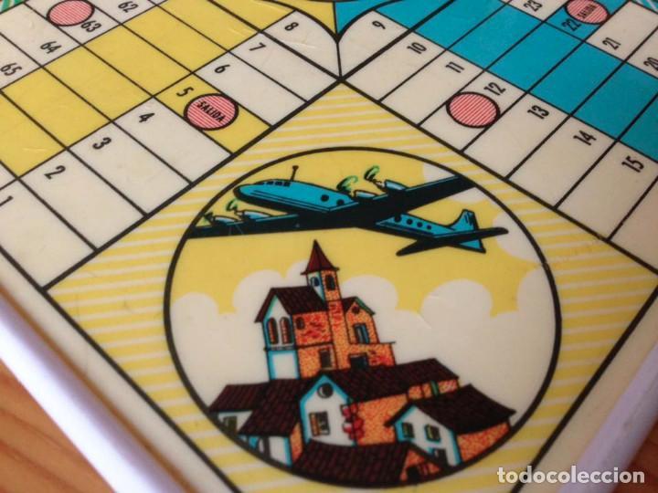 Juegos de mesa: Tablero Parchís y juego de la Oca antiguo - Foto 7 - 77797373