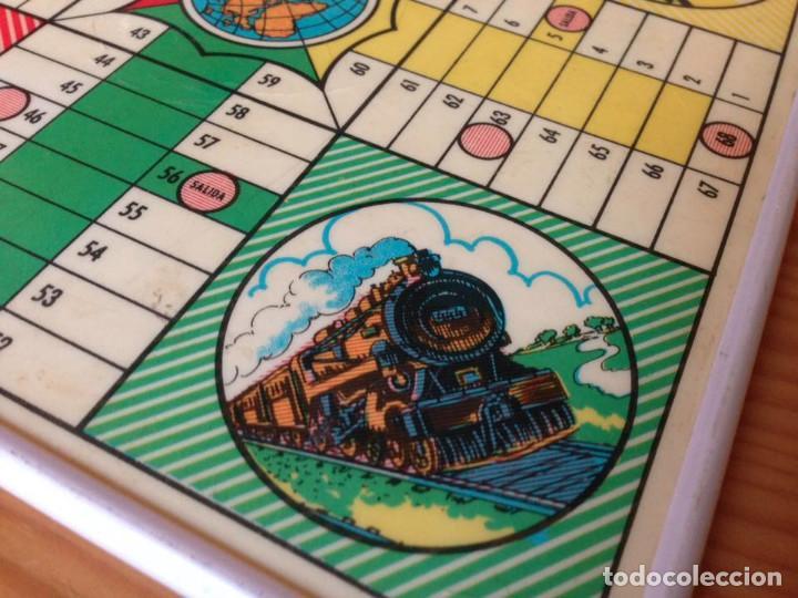 Juegos de mesa: Tablero Parchís y juego de la Oca antiguo - Foto 8 - 77797373